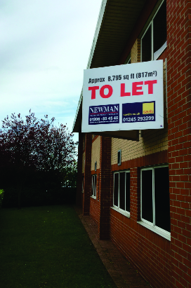 Joint Agent V Board for Newman and Savills